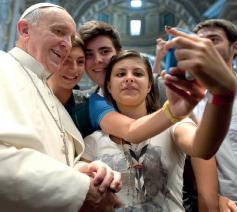 Christus leeft - Christus vivit. Aan de jongeren en aan heel het volk van God, postynodale exhortatie van paus Franciscus © SIR