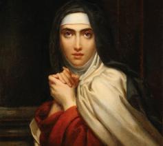 François Gérard - Teresa van Ávila (detail) - 1827  © Wikimedia Commons