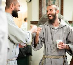 Franciscan Friars of the Renewal. © Instagram cfr_franciscans