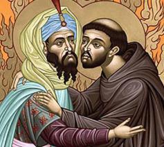 Franciscus en de sultan