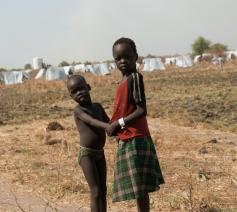Vluchtelingenkamp bij Gambella in Ethiopië. © CC Unicef Ethiopia
