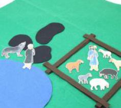 Parabel van de goede Herder © Lindenwerkstätten, Leipzig