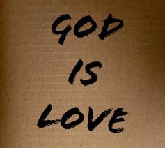 'God is liefde'
