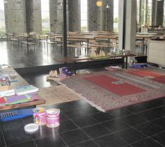Godly Play ruimte in de Sint-Gilliskerk in Tongeren © Kathleen Hoebregts