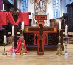 Goede Vrijdag kerk Ertvelde © parochie in Assenede-Evergem-Zelzate