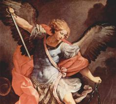 Aartsengel Michaël, Guido Reni ca. 1636 © The Yorck Project (2002) Wikimedia
