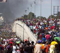 De bevolking van Haïti legde de voorbije maanden het land volledig plat – men sprak over een 'pays lock' – omdat ze het gehad heeft met de aanhoudende wantoestanden  © RR
