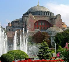 Hagia Sophia © Dennis Jarvis via Wikimedia