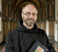 Dirk Hanssens is de nieuwe overste van de benedictijnenabdij van Keizersberg in Leuven © Keizersberg Leuven