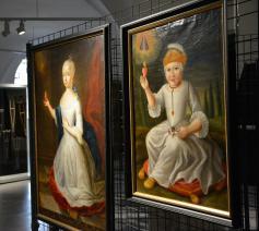 Uit de expo 'Relatiegeschenken aan de hemel' in de Hanswijkbasiliek.