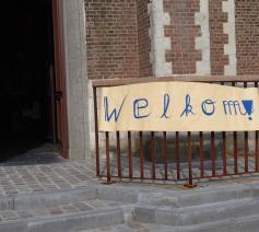 Vanaf 13-14 juni terug weekendvieringen in de kerk ! © lw