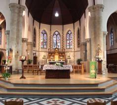 De parochiekerk Herzele