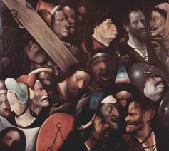 Kruisdraging Hieronymus Bosch © Hieronymus Bosch or follower / Public domain / Wikimedia