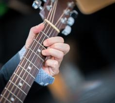 Muzikanten van verschillende christelijke kerken componeerden een paaslied © Albin Hillert/WCC
