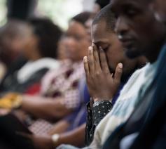 Gebed om vrede in Burundi © Albin Hillert/WCC