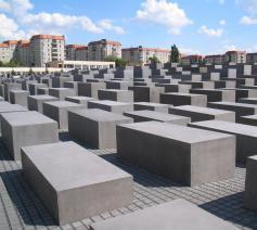 Het Holocaust-memoriaal in Berlijn © Creative Commons