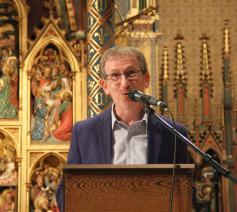 Antoon Arens (auteur) aan het woord  © Bisdom Gent, foto: Ellen Eeckhout