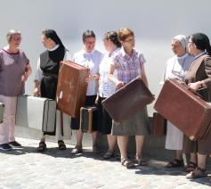 7 zusters van evenveel congregaties willen je wegwijs maken in het religieuze leven met het project 'De kans van je leven'. © Aagje Van Impe
