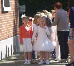 eerste communie © Kerk Stekene en Sint-Gillis-Waas