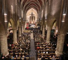 Inhuldiging Sint-Hermesbasiliek Ronse  © Sint-Hermesbasiliek, foto: Fabrice Gevaert