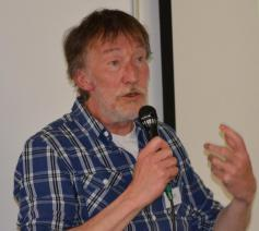 Karel Malfliet van Ecokerk op het IPB-Forum van zaterdag 25 mei 2019 © IPB