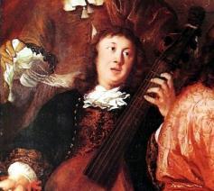 Buxtehude op een schilderij van Johannes Voorhout. © Wikipedia