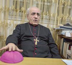 De Syrisch-katholieke emeritus aartsbisschop van Hasseke-Nisibis, mgr. Jacques Behnan Hindo © Twitter