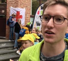 Jonas Sanen, IJD Vlaams-Brabant en Mechelen: 'Missiodag leert vormselkandidaten dat het oké is om uit te komen voor je geloof.' © Lieve Wouters