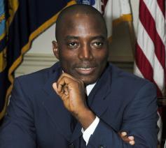 Joseph Kabila Kabange, president van de Democratische Republiek Congo  © US Department of Defense