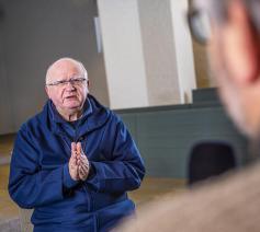 Veertigdagengesprek met bisschop Lode Van Hecke © Bisdom Gent, foto: Frank Bahnmüller