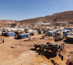 Vluchtelingenkamp in de regio van Arsal © Asianews