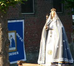 Kapel O.L.Vrouw ter Muren: het Mariabeeld