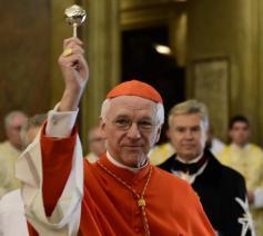 Kardinaal Jozef De Kesel in zijn titelkerk in Rome © Koen Vlaeminck