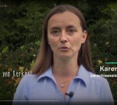 Karen Devroe, parochieassistente van de Kuurnse pastorale een Emmaüs, is een enthousiaste Meter van Kerknet © Kerknet