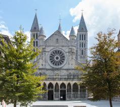 De kathedraal van Doornik is een van de 13 Belgische sites op de lijst van UNESCO Werelderfgoed. © Diana Nieuwold