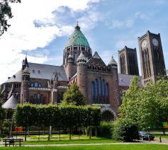 De kathedrale basiliek van Sint-Bavo in Haarlem © Wikipedia