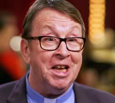 De Ierse priester Ray Kelly © Britain's Got Talent