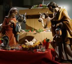 Kerststal kerk Keiem