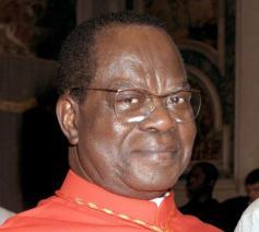 Kardinaal Laurent Monsengwo Pasinya (1939-2021)  © VaticanMedia
