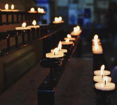 Brandende kaarsjes © Pexels.com