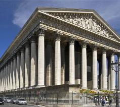 Eglise de la Madeleine in Parijs © Wikipedia