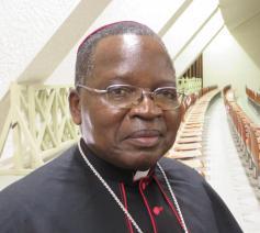 Mgr. Marcel Utembi Tapa, aartsbisschop van Kisangani en voorzitter van CENCO, de Bisschopenconferentie van DR Congo  © Emmanuel Van Lierde
