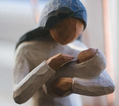 Maria en het kindje Jezus © Unsplash, foto: Phil Hearing