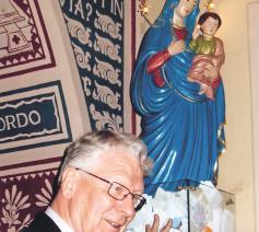 Bisschop Van Looy in Turijn © Bisdom Gent