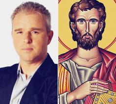 Mark Tijsmans zet in De Passie 2018 in Lier een genuanceerde Judas neer, belooft hij. © De Passie