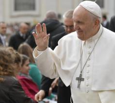 Paus Franciscus © VaticanMedia
