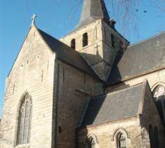 De Sint-Walburgakerk Meldert