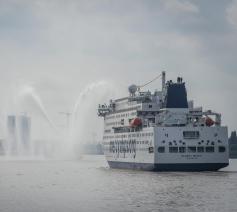 Global Mercy in Antwerpen © Jonathan Remael/Mercy Ships