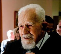Mgr. Jan Van Cauwelaert (1914-2016)  © Philippe Keulemans