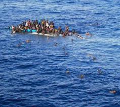 Migranten op drift © Mussie Zerai/AHCS